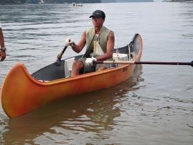 Passeios em canoas Canadenses